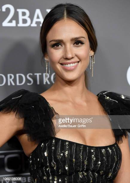 Jessica Alba attends the 2018 Baby2Baby Gala Presented by Paul Mitchell at 3LABS on November 10 2018 in Culver City California