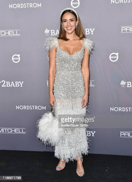 Jessica Alba attends the 2019 Baby2Baby Gala Presented By Paul Mitchell at 3LABS on November 09 2019 in Culver City California