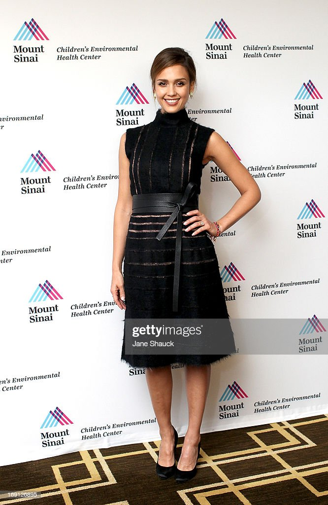 Jessica Alba attends the Champion For Children Award Ceremony Honoring Jessica Alba at Hyatt Regency Greenwich on May 20, 2013 in Greenwich, Connecticut.