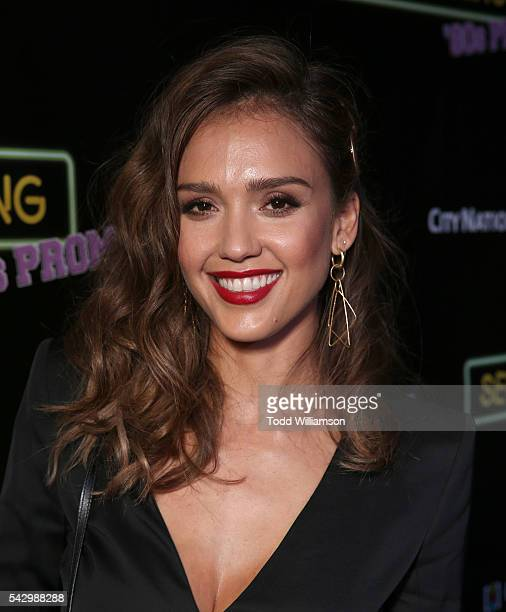 Jessica Alba attends the premiere Of Wonder Vision's 'Seoul Searching' at The Majestic Downtown on June 24 2016 in Los Angeles California