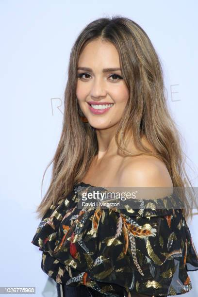 Jessica Alba attends the Rachel Zoe Spring 2019 LA Presentation at Hotel BelAir on September 4 2018 in Los Angeles California