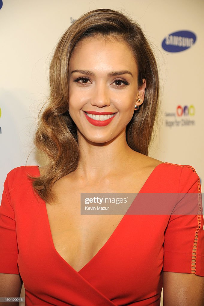 Jessica Alba attends the Samsung Hope For Children Gala 2014 at Cipriani Wall Street on June 10, 2014 in New York City.