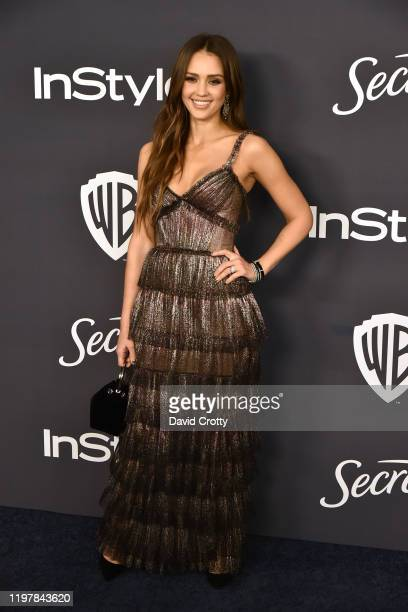 Jessica Alba attends the Warner Brothers and InStyle 21st Annual Post Golden Globes After Party Sponsored By L'Oreal Paris & Secret at Beverly Hills...