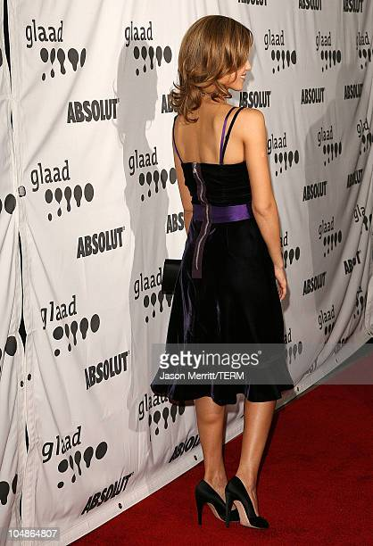 Jessica Alba during 17th Annual GLAAD Media Awards Arrivals at Kodak Theatre in Hollywood California United States