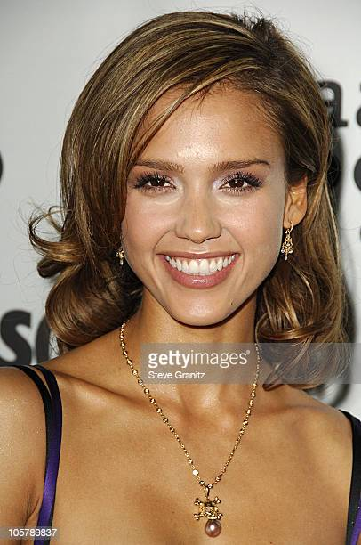 Jessica Alba during 17th Annual GLAAD Media Awards Arrivals in Los Angeles California United States