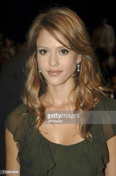 Jessica Alba during 2005 MTV Movie Awards Backstage and Audience at Shrine Auditorium in Los Angeles California United States