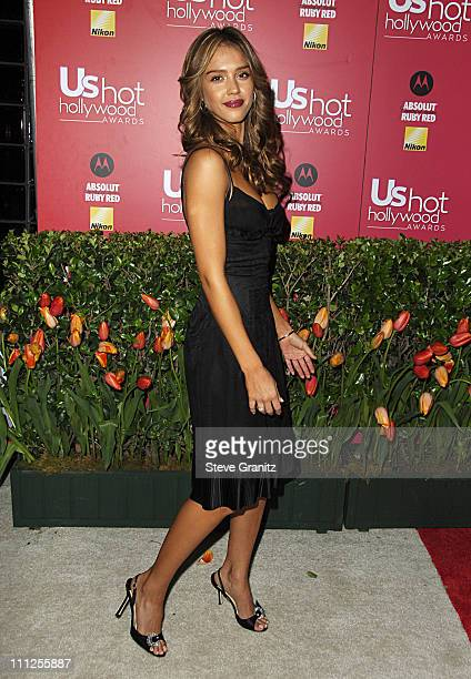Jessica Alba during 2006 US Weekly Hot Hollywood Awards Arrivals at Republic Restaurant Lounge in Los Angeles California United States