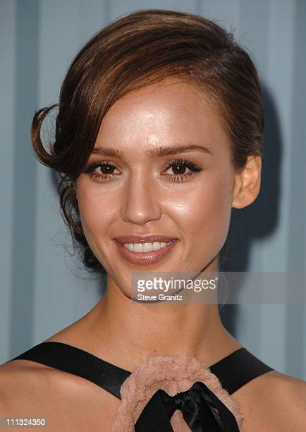 Jessica Alba during 2007/2008 Chanel Cruise Show Presented by Karl Lagerfeld at Hangar 8 Santa Monica Airport in Santa Monica California United States