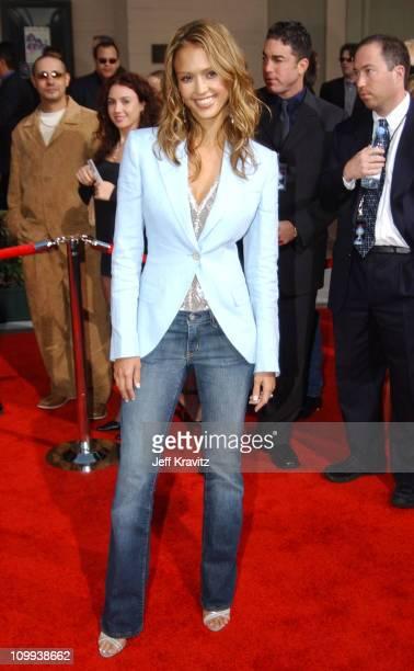 Jessica Alba during 31st Annual American Music Awards Arrivals at Shrine Auditorium in Los Angeles California United States
