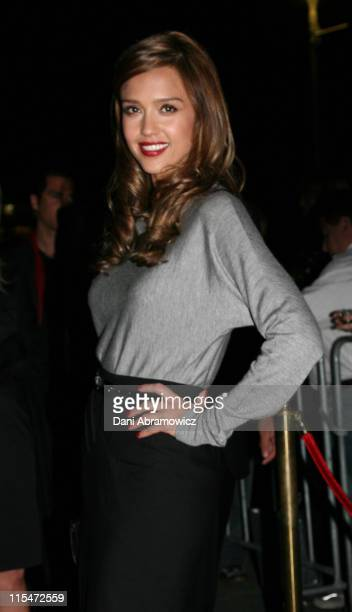Jessica Alba during Fantastic Four Rise of the Silver Surfer Media Call at Fox Studios Hoyts in Sydney NSW Australia