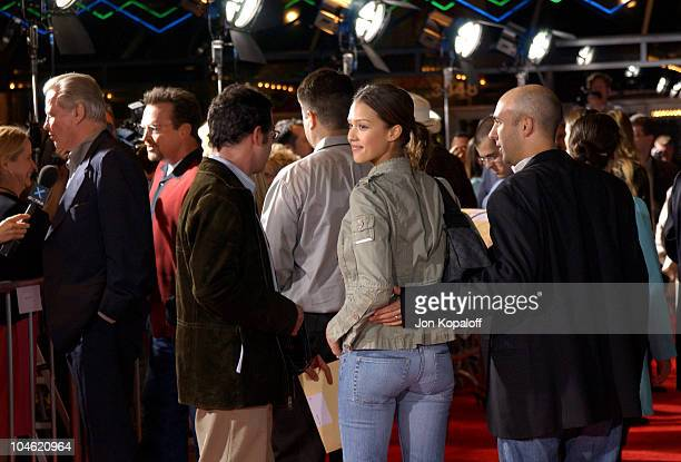 Jessica Alba during Ghosts Of The Abyss Premiere at Universal City Walk IMAX in Universal City California United States
