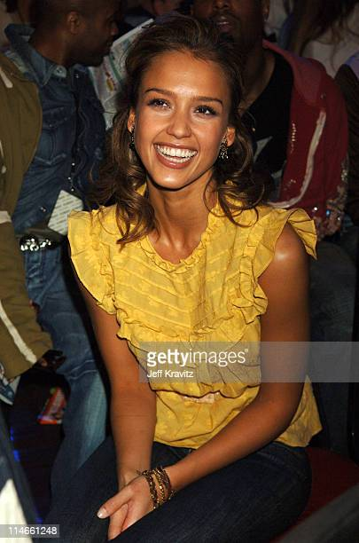 Jessica Alba during Nickelodeon's 19th Annual Kids' Choice Awards - Backstage and Audience at Pauley Pavillion in Westwood, California, United States.
