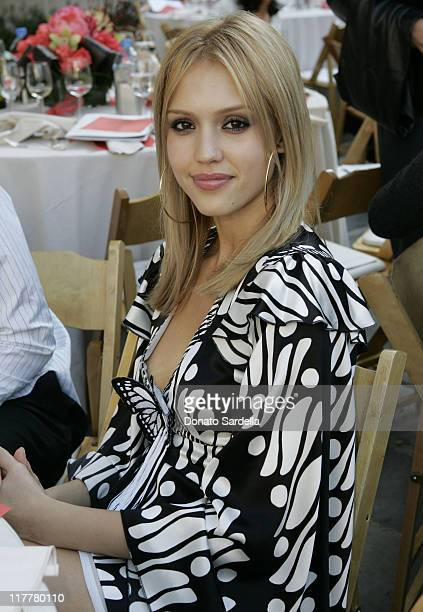 Jessica Alba during Step Up Women's Network Fourth Annual Fashion Forward Luncheon Presented By Lexus Featuring Andrew Gn at Greystone Mansion in...