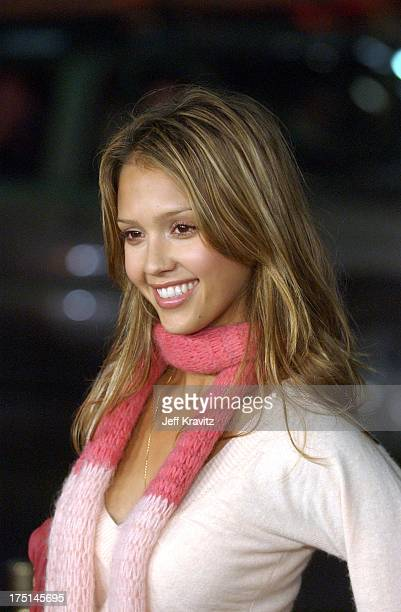 Jessica Alba during Texas Chain Saw Massacre Hollywood Premiere at Mann's Chinese Theater in Hollywood California United States