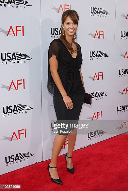 Jessica Alba during The 32nd AFI Life Achievement Award Honors Meryl Streep at Kodak Theatre in Hollywood California United States