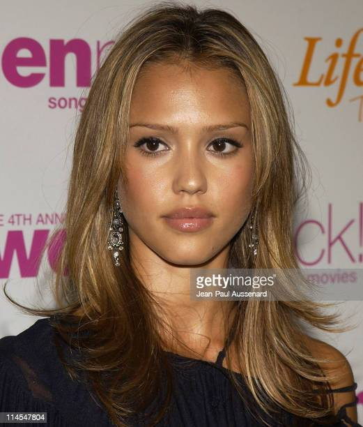 Jessica Alba during The 4th Annual Women Rock Songs From The Movies Arrivals at Kodak Theater in Hollywood California United States
