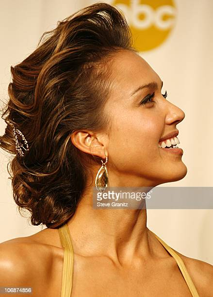 Jessica Alba during The 78th Annual Academy Awards Press Room at Kodak Theatre in Hollywood California United States