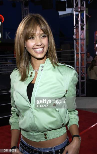 "Jessica Alba during The World Premiere Of ""2 Fast 2 Furious""-Red Carpet Arrivals at Universal Amphitheatre in Universal City, California, United..."