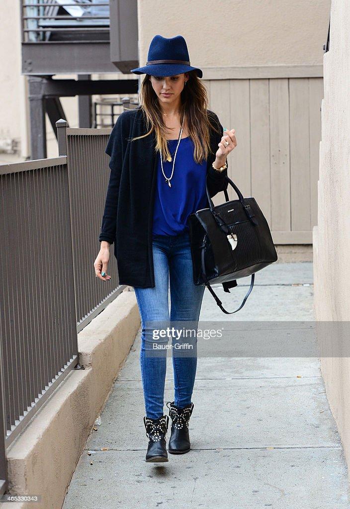 Celebrity Sightings In Los Angeles - January 26, 2014 : ニュース写真