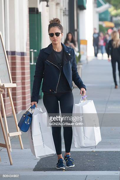 Jessica Alba is seen on January 17 2016 in Los Angeles California