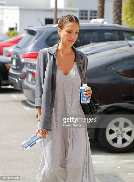Jessica Alba is seen on July 02 2014 in Los Angeles California
