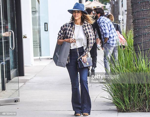 Jessica Alba is seen on November 15 2015 in Los Angeles California