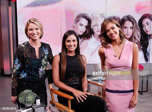 """Jessica Alba on """"Good Morning America,"""" 9/10/15, airing on the Walt Disney Television via Getty Images Television Network."""