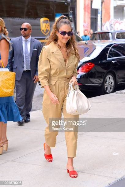 Jessica Alba seen in Manhattan on July 24 2018 in New York City
