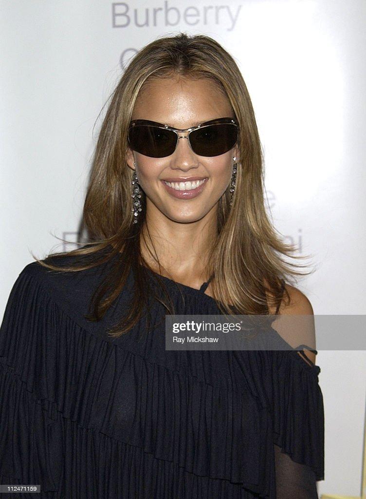Jessica Alba wears Bottega Veneta BV02/SL by Safilo Group