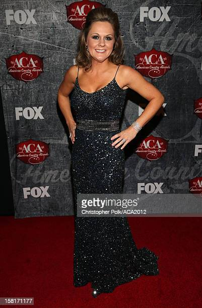 Jessica Aldean arrives at the 2012 American Country Awards at the Mandalay Bay Events Center on December 10, 2012 in Las Vegas, Nevada.