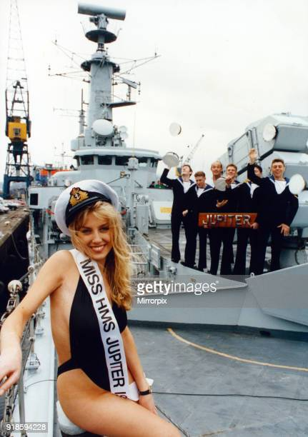 Jessica Alexander an 18 year old student from Darlington became the new Miss HMS Jupiter at a contest in Middlesbrough's Madison nightclub and met...