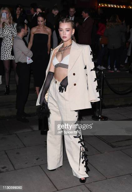 Jessica Alexander attends the Fabulous Fund Fair during London Fashion Week February 2019 at The Roundhouse on February 18 2019 in London England