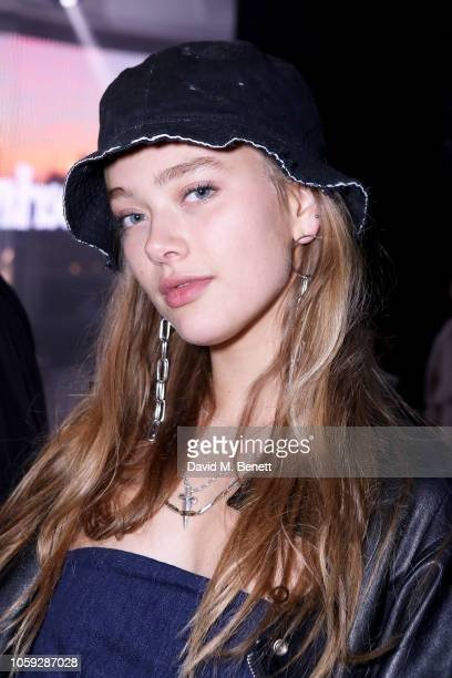 Jessica Alexander attends Timberland 45th Anniversary Exhibition Launch on November 8 2018 in London England