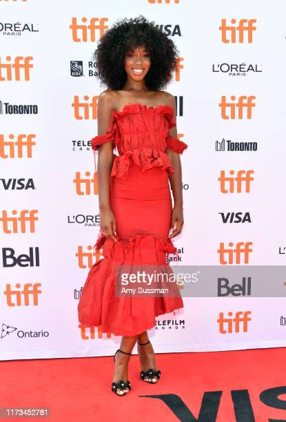 Jessica Allain attends The Laundromat premiere during the 2019 Toronto International Film Festival at Princess of Wales Theatre on September 09 2019...
