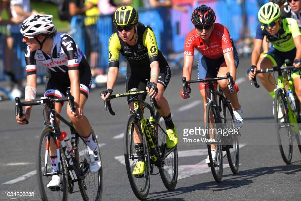 Jessica Allen of Australia and Team MitcheltonScott / during the 4th Madrid Challenge by la Vuelta Stage 2 a 1003km stage from Madrid to Madrid /...