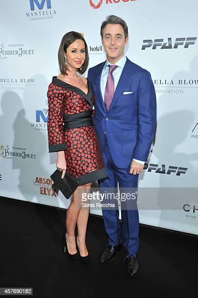 Jessica and Ben Mulroney attend Hudson's Bay And The Isabella Blow Foundation Present Fashion Blows at The Hudson's Bay on October 22 2014 in Toronto...