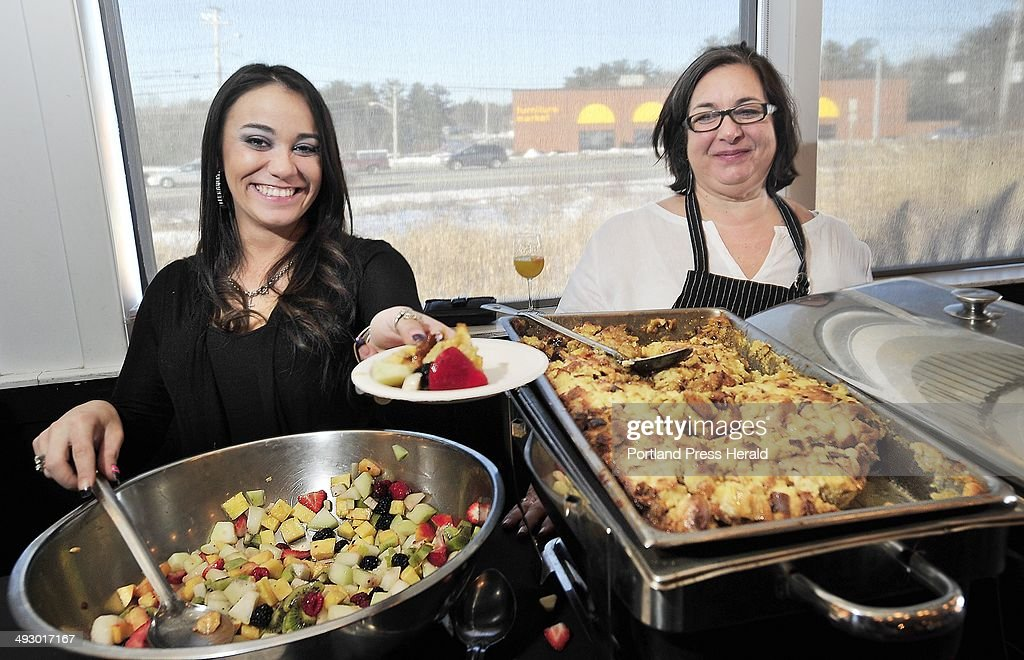 Jessica And Lisa Kostopoulos Of The Good Table In Cape Elizabeth