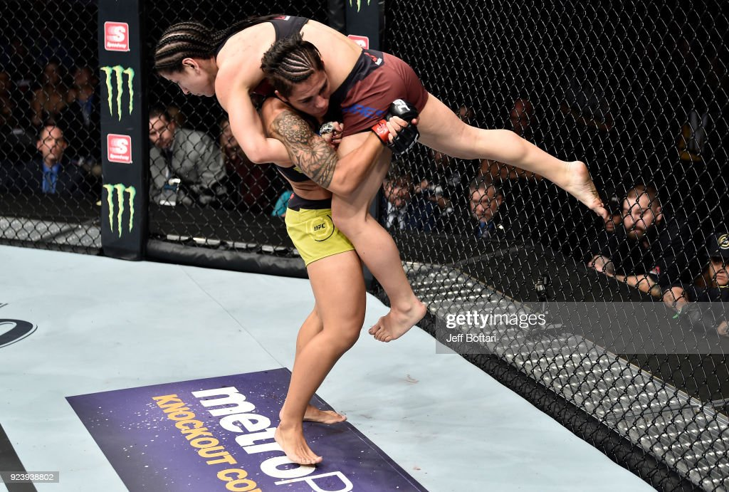 UFC Fight Night: Andrade v Torres : News Photo