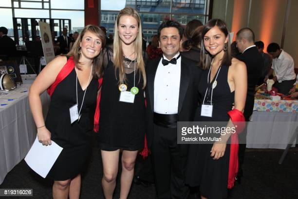 Jessica Andrews, Cassidy Boesch, Fernando Pecheko and Katie Hardison attend Dr. OZ's HEALTHCORPS Announces Gala to Raise Funds to Fight Child Obesity...