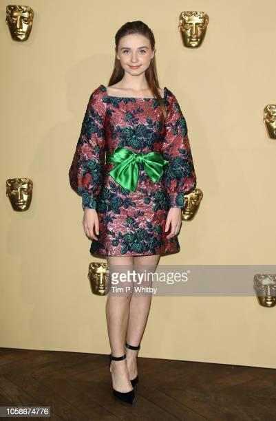 Jessica Barden attends the BAFTA Breakthrough Brits reception at BAFTA on November 7 2018 in London England