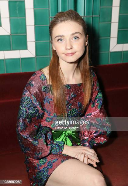 Jessica Barden attends the Bafta Breakthrough Brits x Burberry on November 7 2018 in London England