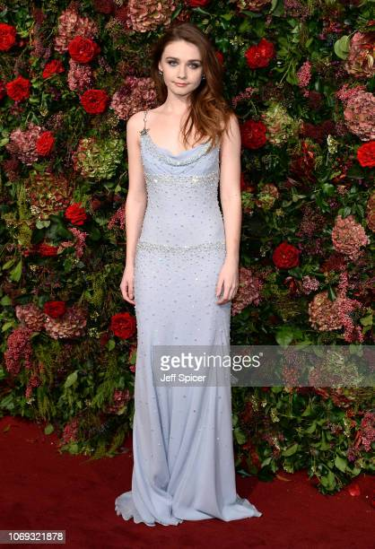 Jessica Barden attends the Evening Standard Theatre Awards 2018 at the Theatre Royal on November 18 2018 in London England