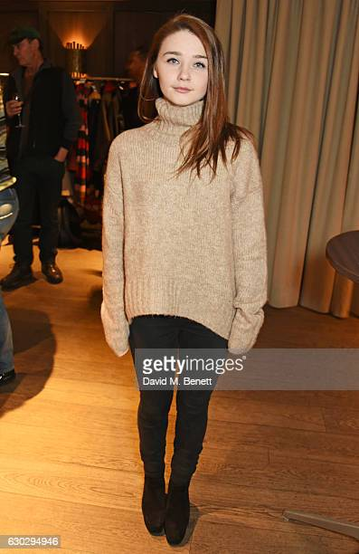 Jessica Barden attends the nominations announcement for The London Critics' Circle Film Awards at The May Fair Hotel on December 20 2016 in London...
