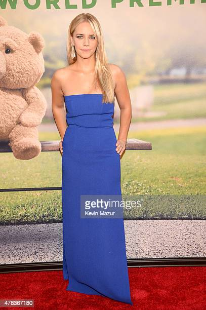 Jessica Barth attends the New York Premiere of Ted 2 at Ziegfeld Theater on June 24 2015 in New York City