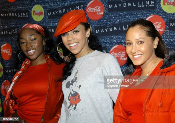 Jessica Benson Kiely Williams and Adrienne Bailon of '3LW'