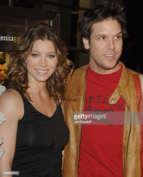 Jessica Biel and Dane Cook during London Los Angeles Premiere Arrivals at ArcLight Hollywood in Hollywood California United States