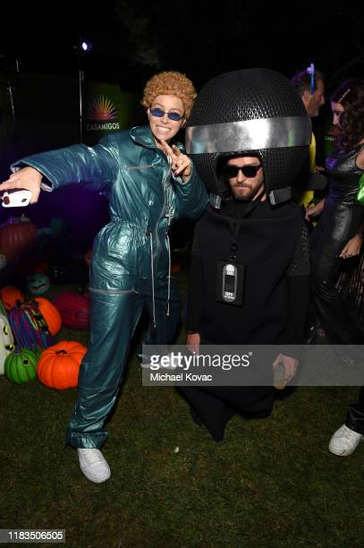 Jessica Biel and Justin Timberlake attend the 2019 Casamigos Halloween Party on October 25 2019 at a private residence in Beverly Hills California