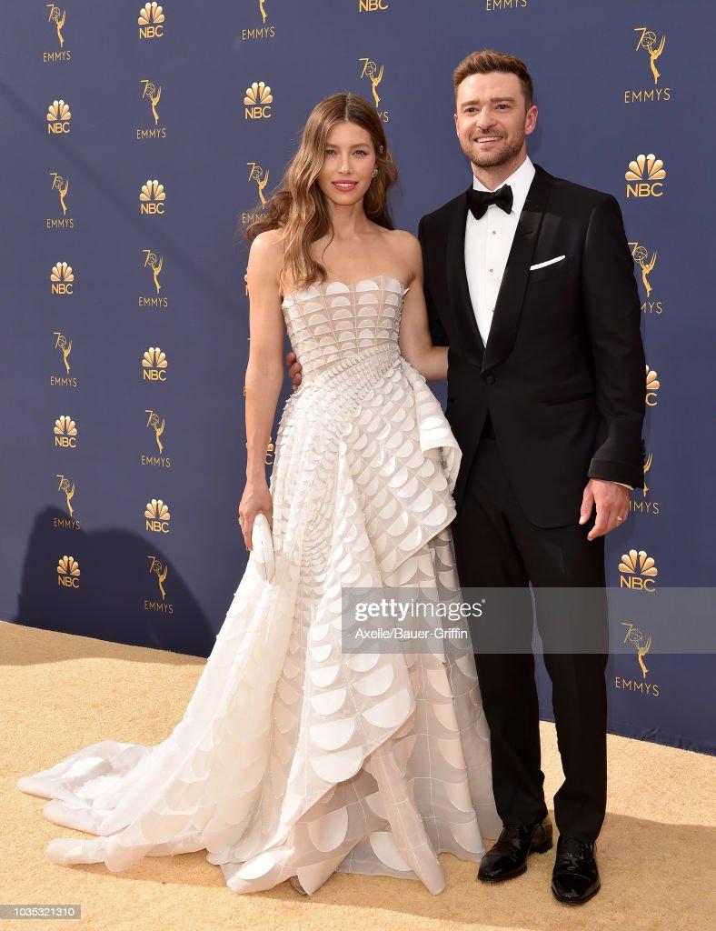 70th Emmy Awards - Arrivals : Nieuwsfoto's