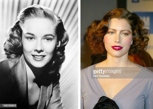 In this composite image a comparison has been made between actresses Vera Miles and Jessica Biel Actress Jessica Biel will play actress Vera Miles in...