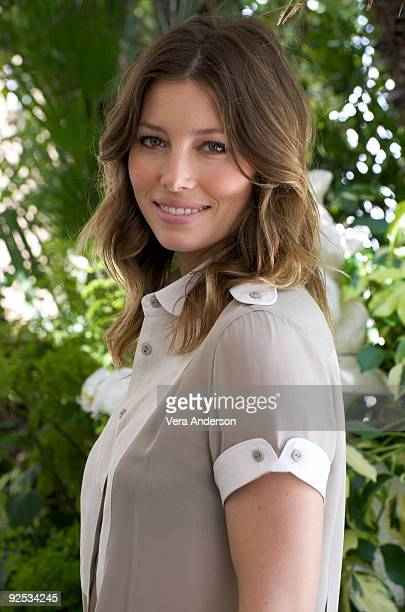 Jessica Biel at the 'Easy Virtue' press conference at the Four Seasons Hotel on May 20 2009 in Beverly Hills California